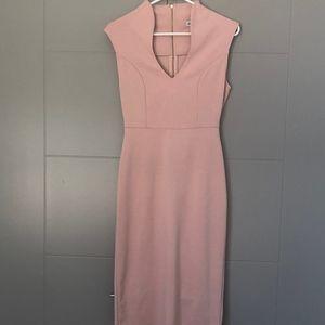 Dresses & Skirts - OFFICE DRESS: Blush Pink Pencil Dress